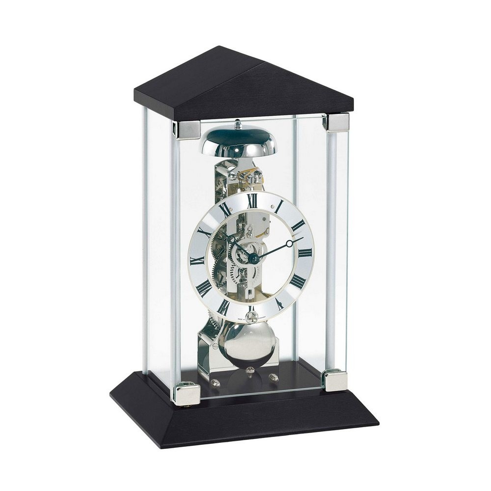 Hermle Barkingside Mantel Clock with Mechanical Skeleton Movement 22786740791