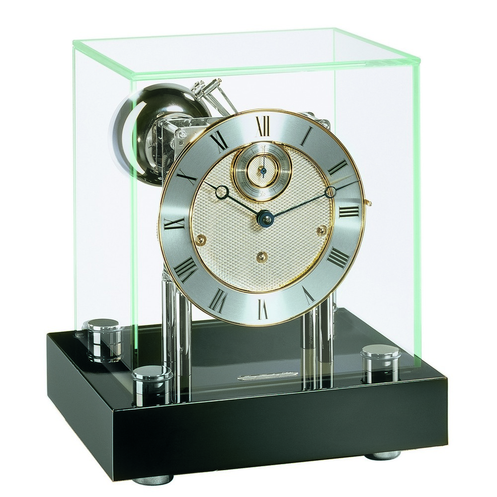 hermle chigwell modern design mantel clock 22801 740352. Black Bedroom Furniture Sets. Home Design Ideas