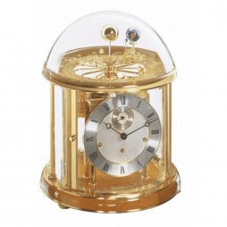 Hermle Tellurium Clock I with Cherry Piano Finish 22805-160352