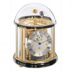 Hermle Tellurium Clock I with Black Piano 22805-740352