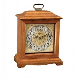 Ashland Mantel Clock With Mechanical Movement and Classic Oak Finish 22825-I90340