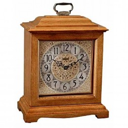 Ashland Mantel Clock With Quartz Movement and Classic Oak Finish 22825-I92114