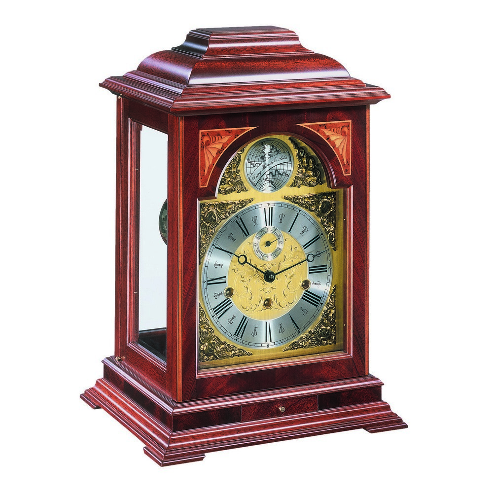 Hermle Cornell Mantel Clock With 8 Day Mechanical Movement 22848070352 22848 070352