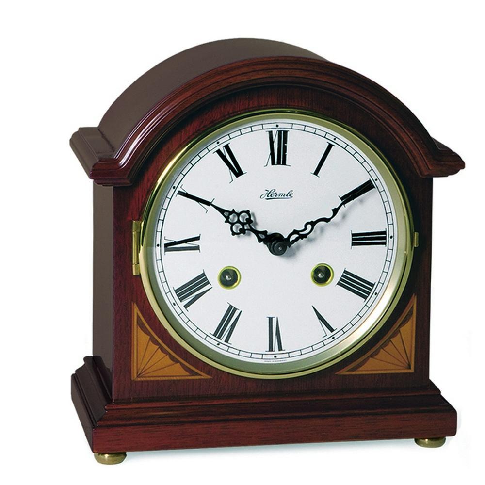 Hermle Liberty Barrister Mechanical Mantel Clock 22857n90130