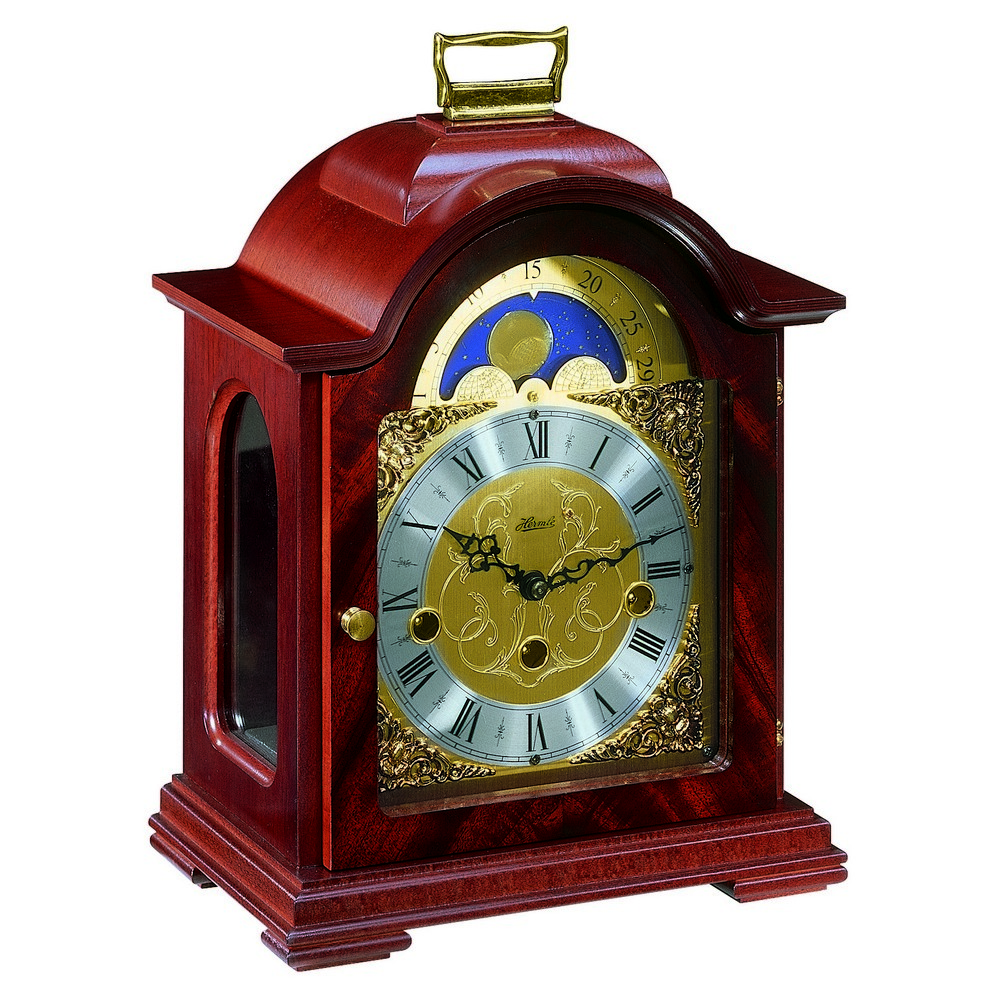 Hermle Debden Mantel Clock With Key Wind Movement 22864070340