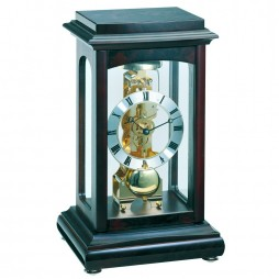 Hermle Winchester Mantel Clock with Skeleton Movement 22957-Q30791