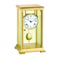 Lyon Brass Clock with 8-Day Mechanical Movement 22997-000131
