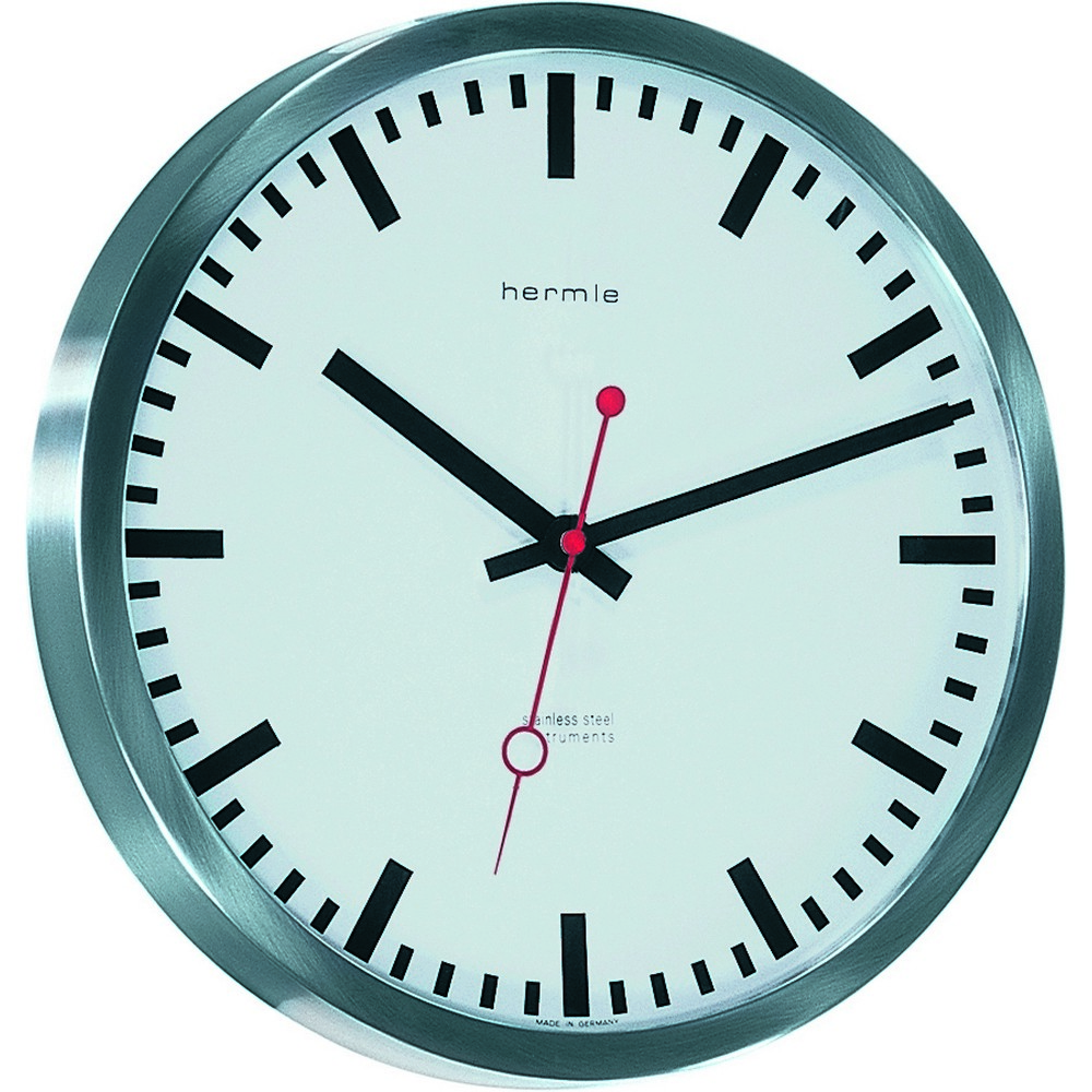 Hermle Grand Central Contemporary Wall Clock 30471002100