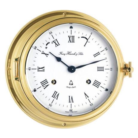 Ship's Bell Clock | Hermle Norfolk Nautical Clock 35065-000132