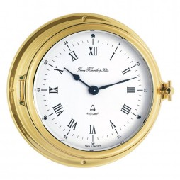 Ship's Bell Clock | Hermle Norfolk Nautical Clock 35065-000132