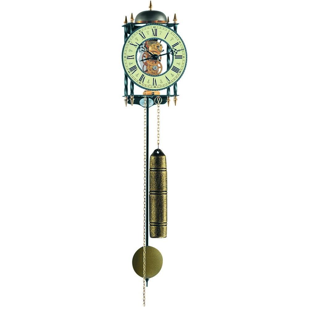 Hermle Lester Mechanical Skeleton Wall Clock 70503000701