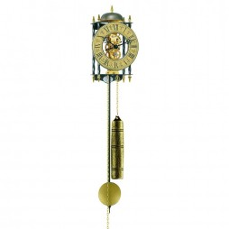 Hermle Stamford Mechanical Skeleton Wall Clock 70504-000701