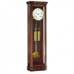 Hermle Clapham Wall Clock with 8-day Cable Driven Movement 70617-030058