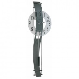 Hermle Kennington Contemporary Wall Clock With Mineral Glass Dial 70644-292200