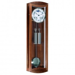 Hermle Mornington Cable-driven Mechanical Regulator Wall Clock - Walnut 70650-030058