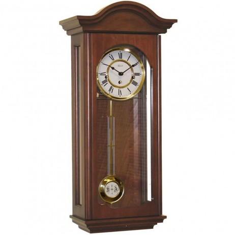 Hermle Brooke Mechanical Regulator Wall Clock - Cherry Finish 70815-N90341