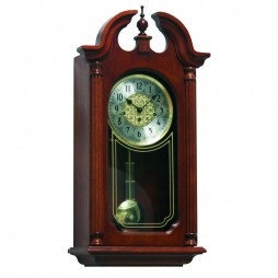 Hermle Hopewell Chiming Wall Clock with 4/4 Mechanical Movement 70820-N90341