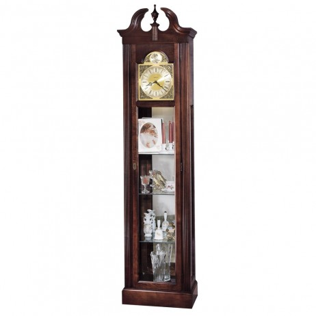 Howard Miller Cherish Curio Floor Clock 610-614