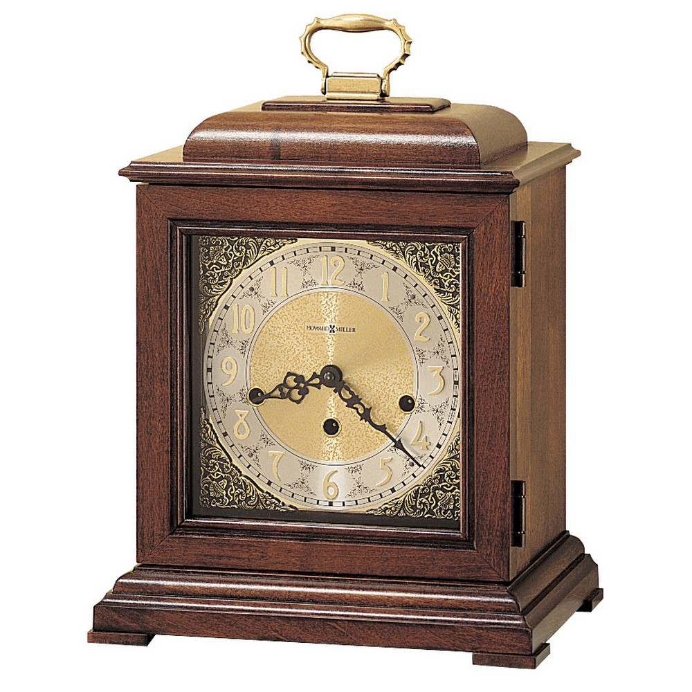 Howard Miller Samuel Watson Key-Wind Triple Chime Mantel Clock 612429