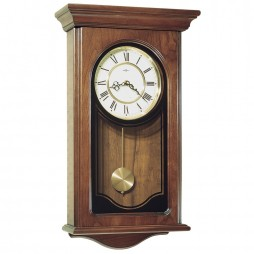 Howard Miller Orland Wooden Wall Clock | Westminster Chime - Cherry 613-164