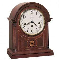 28off howard miller barrister mechanical mantel clock