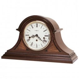 Howard Miller Downing Tambour Triple Chime Mantel Clock (Keywind) 613-192