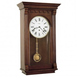Howard Miller Alcott Keywound Chiming Pendulum Wall Clock 613-229