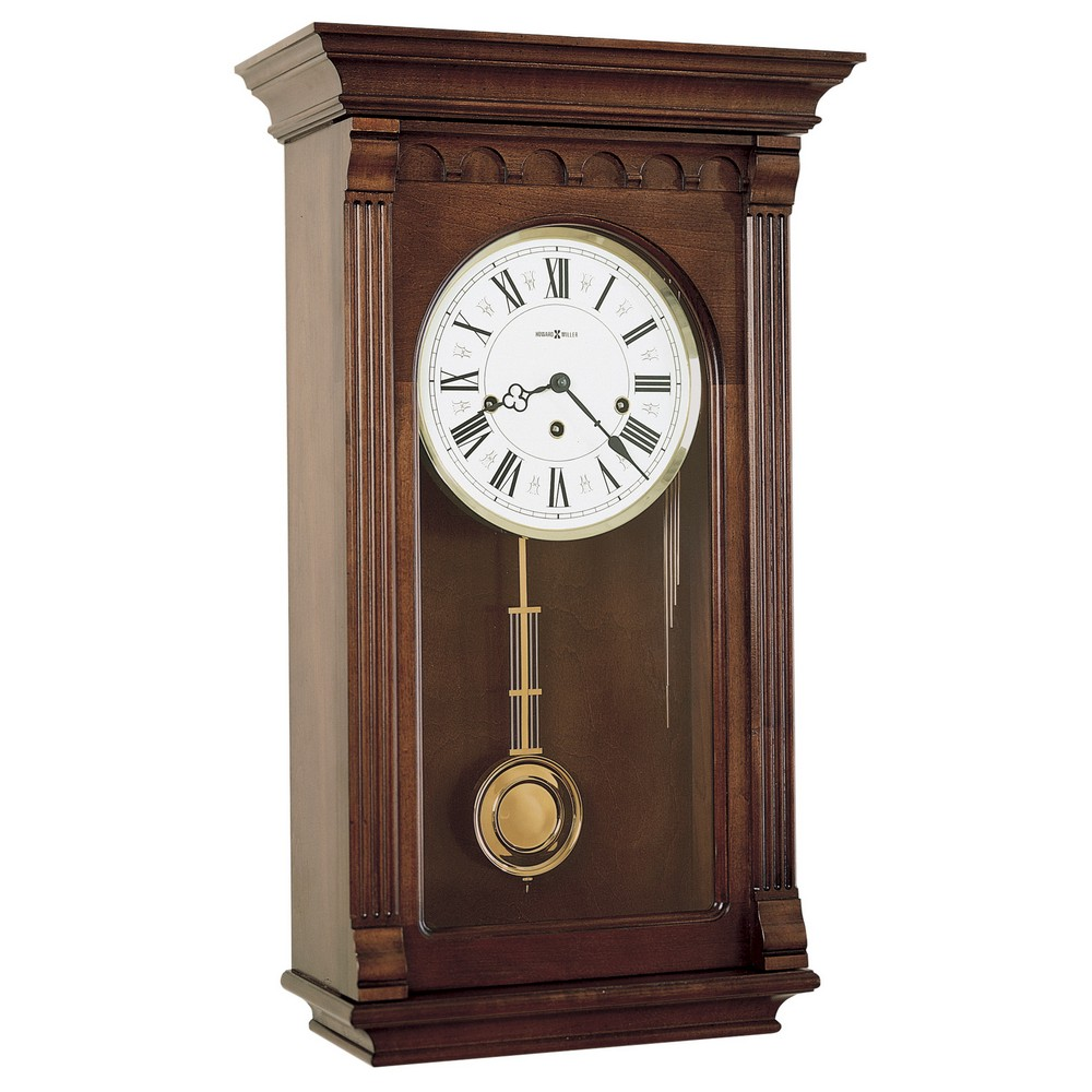 Pendulum wall clock with westminster chime howard miller alcott 613 229 613229 - Wall mounted grandfather clock ...