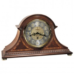 Howard Miller Webster Tambour-Style Mantel Clock (Key Wind) 613-559