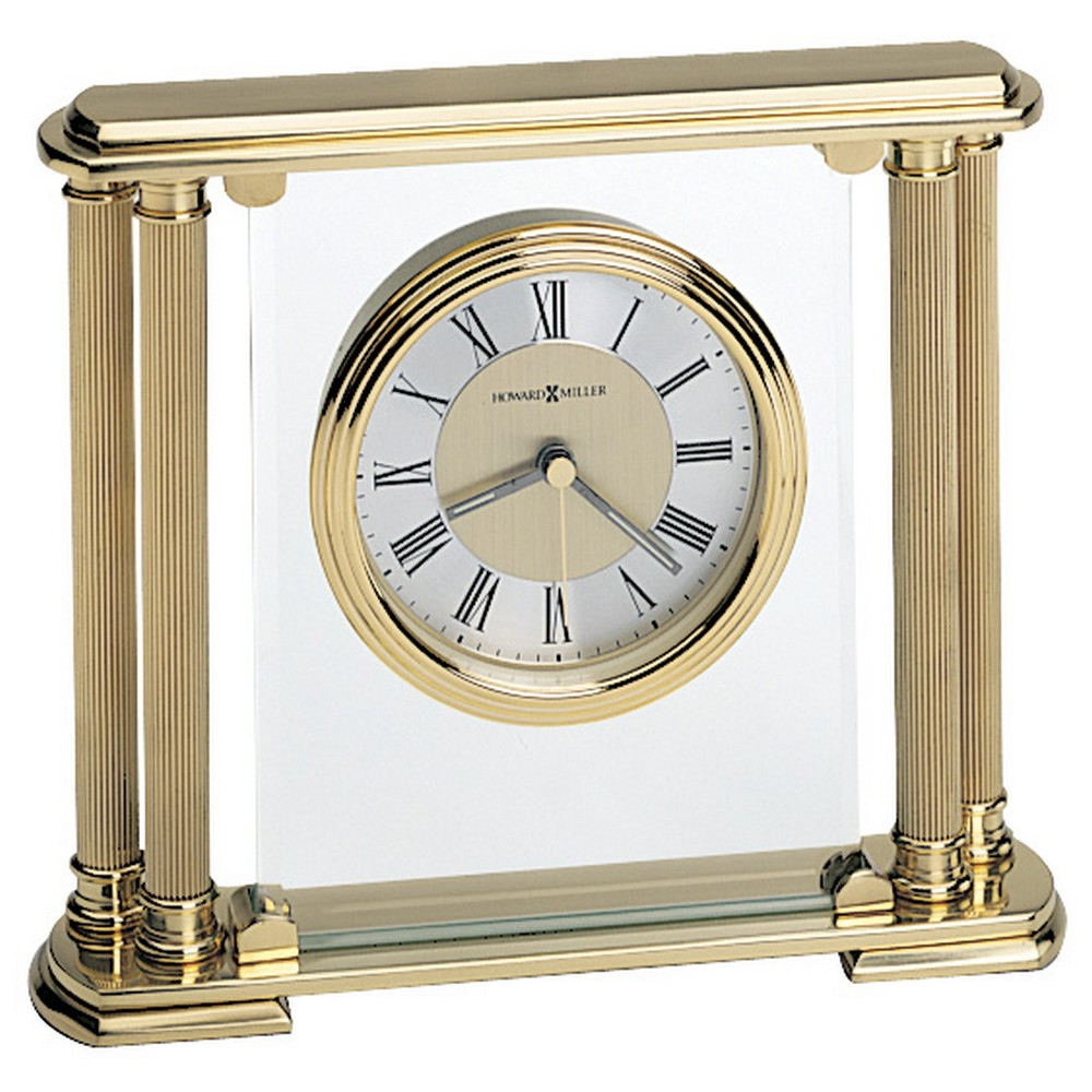 Howard Miller Athens Solid Brass Table Clock 613627