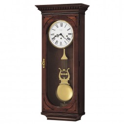 Howard Miller Lewis Key-Wound Chiming Wall Clock 613-637
