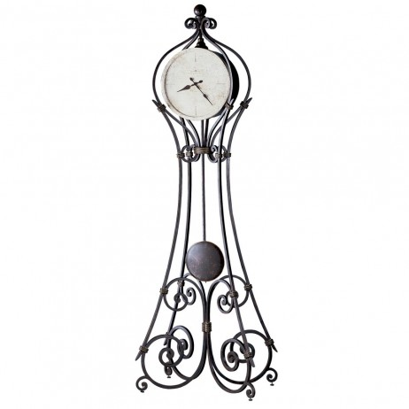 Howard Miller Vercelli Metal Floor Clock 615004