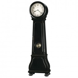 Howard Miller Nashua Distressed Black Floor Clock 615-005
