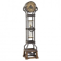 Howard Miller Hourglass Floor Clock 615074 615-074