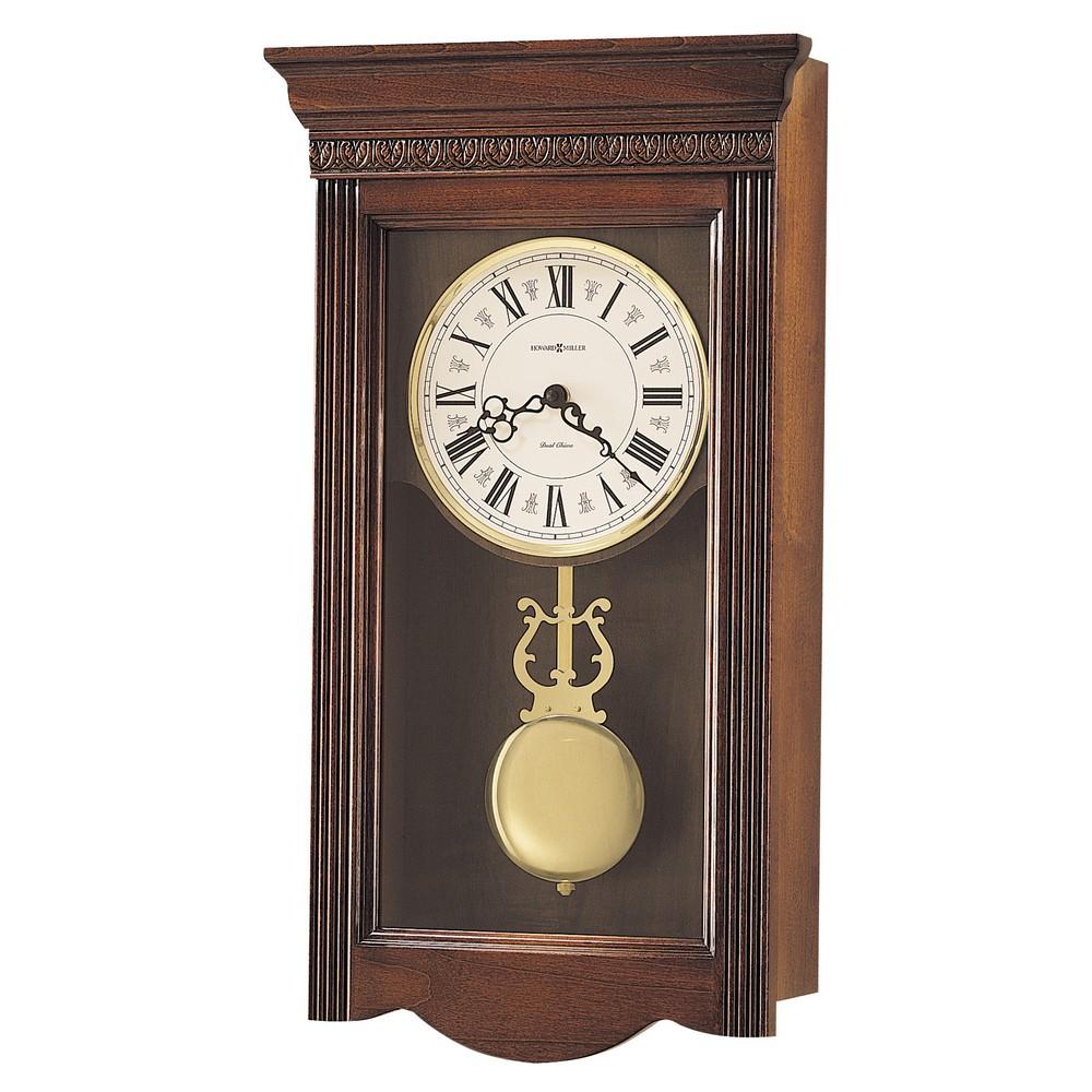 Howard Miller Eastmont Dual Chime Pendulum Wall Clock 620154