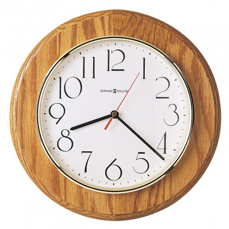 Howard Miller Grantwood Quartz Wall Clock 620-174