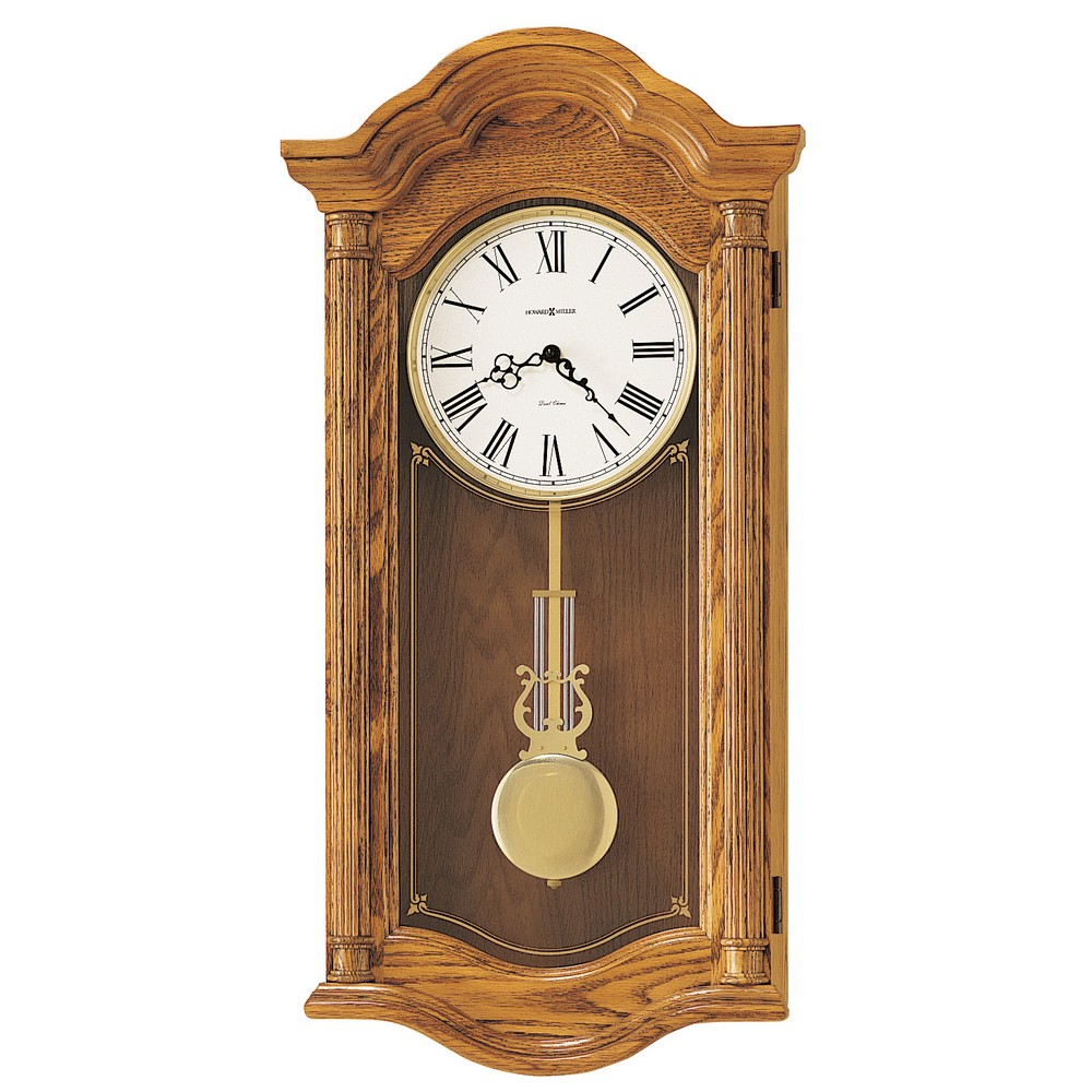Wood Wall Clock Howard Miller Lambourn Ii 620 222