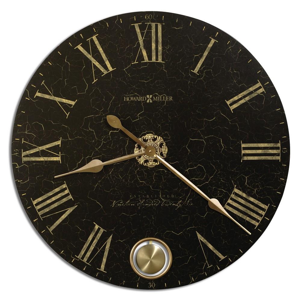 Pendulum wall clock howard miller hermle bulova clockshops howard miller london night black wall clock 620 474 amipublicfo Gallery