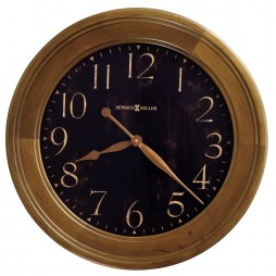 Howard Miller Brenden Black Wall Clock 620-482