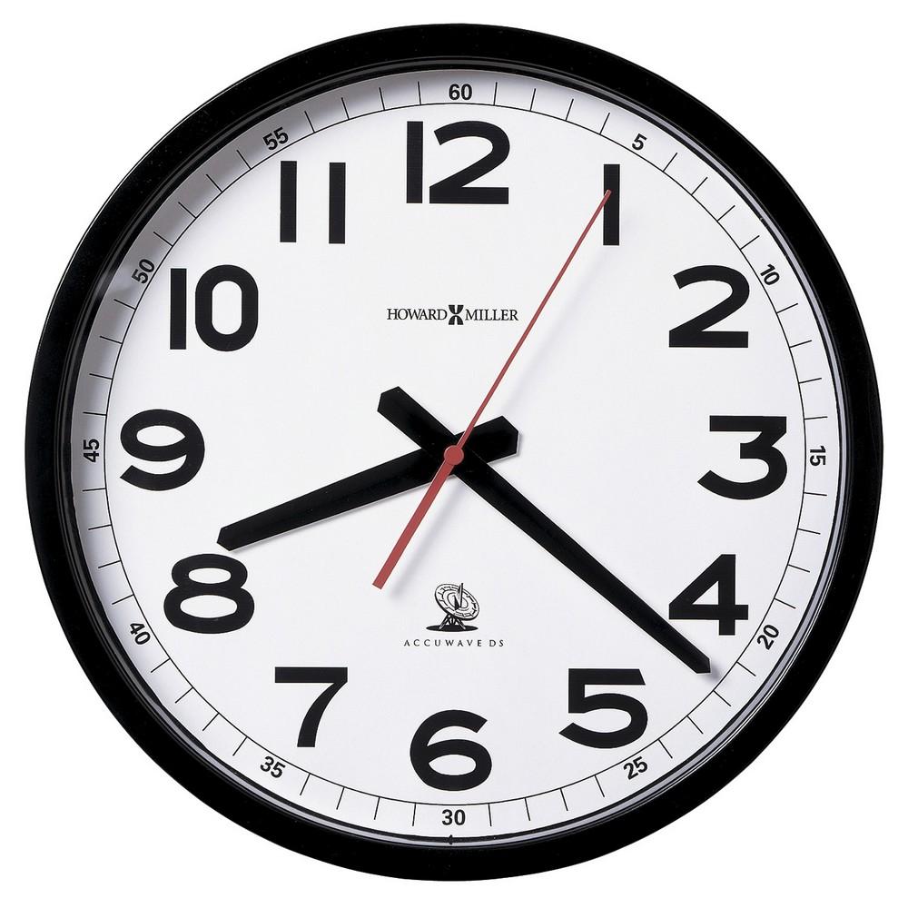 Radio Controlled Wall Clock Howard Miller Accuwave Ii 625205