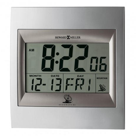 Howard Miller Techtime II - Radio Controlled Clock 625-236