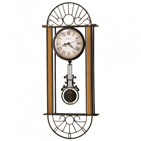 Wrought Iron Wall Clock Howard Miller Devahn 625-241