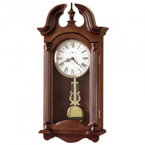 Chiming Pendulum Wall Clock Howard Miller Everett 625-253