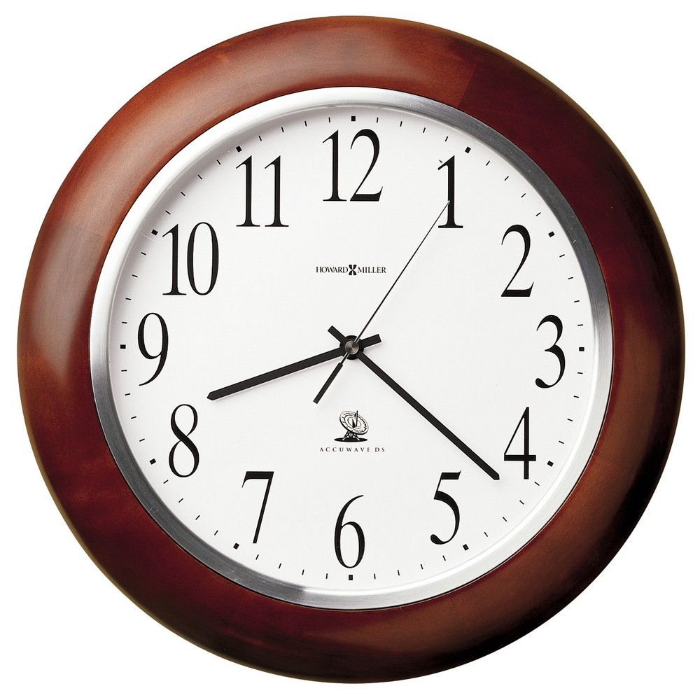 Howard Miller Murrow Radio Controlled Wall Clock 625259