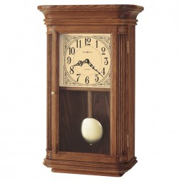 Howard Miller Westbrook Quartz Wall Clock With Oak Finish 625-281