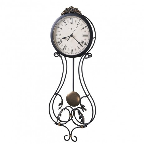Howard Miller Paulina Wrought Iron Wall Clock 625-296