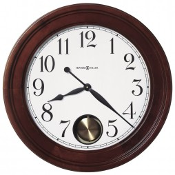 "Howard Miller Griffith 25"" Wall Clock with Internal Pendulum 625-314"