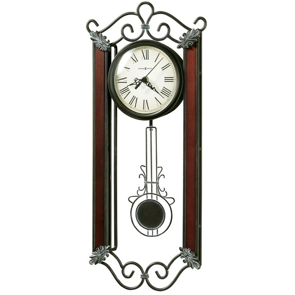 wrought iron wall clock carmen 625326