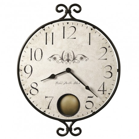 Howard Miller Randall Round Clock With Internal Pendulum 625-350