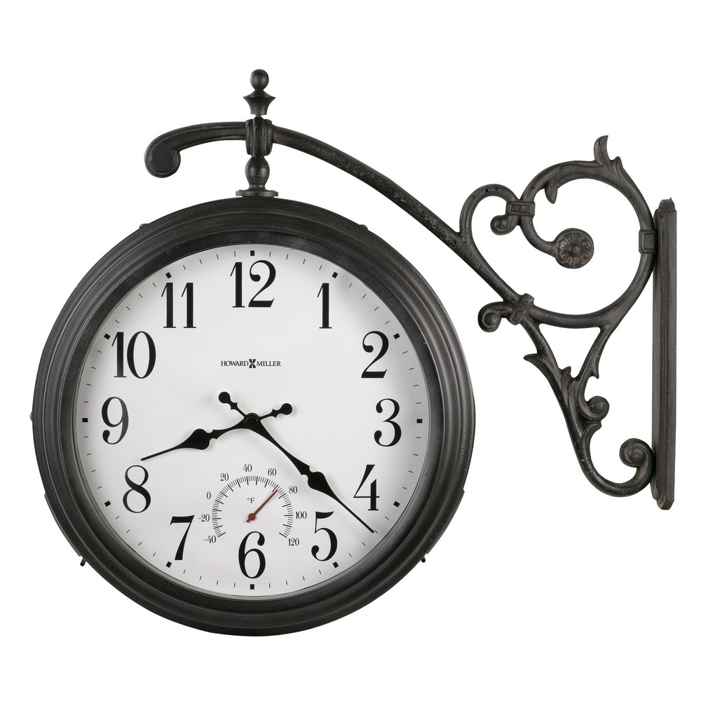 Outdoor double sided clock outdoor designs outdoor double sided clock designs amipublicfo Image collections